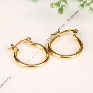 COMING SOON! Yellow Gold Filled Hoops